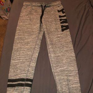 PINK jogger sweatpants